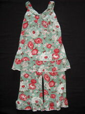 NWT $64 Boutique Tralala JADE FLOWER 2 2T 4 4T Set Girl Outfit Pink Green Knit