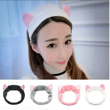 Cat Ears Headdress Hairband Head Band Hair Accessories Party Gift Makeup Tools