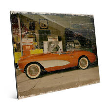 'Stopping on Route 66' Slim Acrylic Wall Art