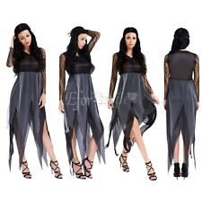 Lady Women Witch Cosplay Costume Halloween Role Play Outfit Party Fancy Dress Up