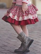 NWT Persnickety Holiday Candy Cane Collection Red London Girls Skirt sz 2 4 5