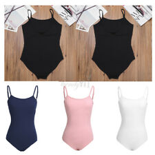 Adult Ballet Leotard Gymnastics Straps Dance Bodysuit Women's Dancer Leotard Hot