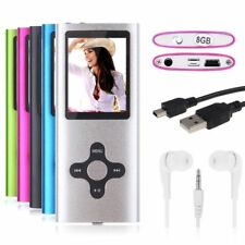 "8GB Digital Mp3 Mp4 Player Walkman 1.8"" LCD Screen FM Radio, Games & VideoGift"