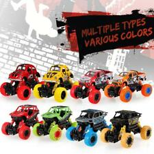 1/32 Alloy 4WD Big Wheels Shock Resistant Climbing Car Pull Back Vehicle R8L9