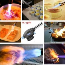 Portable Gas Torch  Flame Maker Lighter Gun Butane Weld Burner for Picnic BBQ GK
