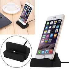 Desktop Charging Stand Dock Station Cradle Charger For iPhone 8 8Plus X 7 Plus