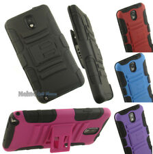 RUGGED HEAVY DUTY SKIN CASE STAND BELT CLIP HOLSTER FOR SAMSUNG GALAXY NOTE 3