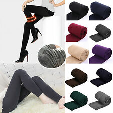 Winter Women Thick Warm Fleece Lined Thermal Stretchy Slim Skinny Leggings Pants