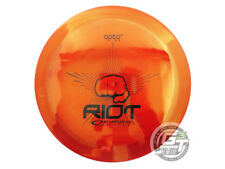 NEW Latitude 64 Opto Riot 174g Red Black Stamp Distance Driver Golf Disc