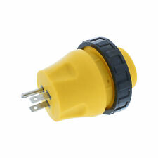 ABN RV Power Cord Electrical Locking Adapter, Male to Female Plug Connector
