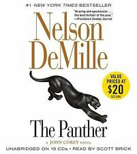 Nelson DeMille THE PANTHER New Unabridged 19 CDs (2016)