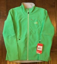 NEW Authentic THE NORTH FACE Womens Surreal green Apex Bionic Softshell Jacket
