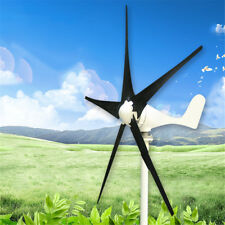 DC 12/24V 100W 5 Blades Wind Turbine Generator with Windmill Charge Controller