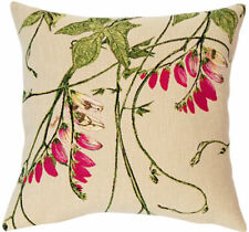 Les Inseparables Floral Vine French Tapestry Cushion Pillow Cover- 18 x 18 - NEW