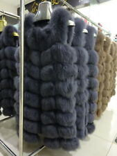 100% Real Fox Fur Vest Jacket Coat Fur Clothing Garment Fashion Beautiful -C917
