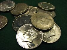 Roll of 20 Kennedy SILVER Half Dollars  40% Silver  Mixed Dates  Dated 1965-1969