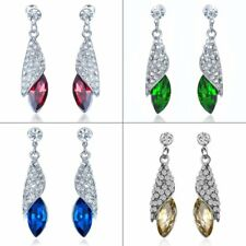 Fashion Crystal Rhinestone Drop Dangle Earrings Ear Women Jewelry Party Gift New