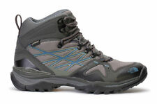 The North Face Men's HedgeHog Fastpack GTX Mid Hiking Shoes Grey Blue CXU5YUM