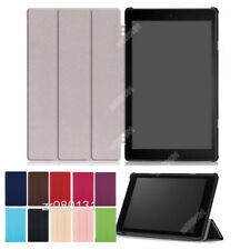 PU Leather Stand Flip Case Cover For Amazon Kindle Fire HD 10 2017+Film