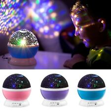 360° LED Starry Night Sky Projector Lamp Star light Romantic Cosmos Master Gifts