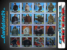 STAR WARS FORCE ATTAX MOVIE CARD SERIES 1 - Master Individually Selectable - NEW