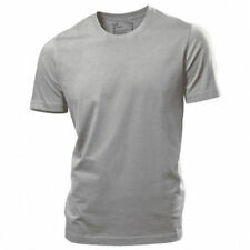 Hanes Premium Perfect T Mens T-shirt Short Sleeve Crew Neck Gray Tagless
