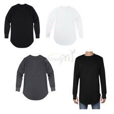 Fashion Mens Slim Fit Casual Shirt T-Shirt Long Sleeve Cotton Men T-Shirts Top
