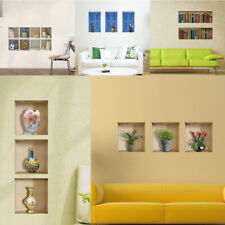 Various 3D Wall Stickers Removable Room Picture Home Decor Mural Art Decals