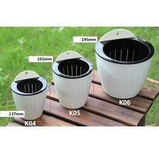 Creative Self-watering Plant Flower Pot Wall Hanging Plastic Planter 4 Color