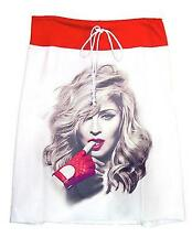 2012 Madonna MDNA Photo Red Glove T-Shirt Drawstring Sweat Skirt - Made In USA.
