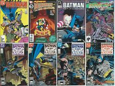 LOT of 8 BATMAN (DC COMIC BOOK COLLECTION) Ten Nights of the Beast!!!