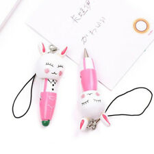 1 Pcs Cartoon Writing Supplies School Ballpoint Pens Pendant Stationery Animal