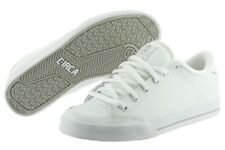 Circa Lopez 50 AL50-WGY White Leather Skateboarding Shoes Medium (D, M) Mens