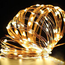 2-10M Fairy String LED Indoor Outdoor Battery String Lights Christmas Xmas Gifts