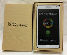 NEVER USED SAMSUNG GALAXY NOTE 3 WHITE AT&T SM-N900A 3GB RAM 32GB - NEW IN BOX