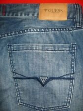 MENS JEANS GUESS JEANS  SIZE 38 X 30 SLIM STRAIGHT DEL MAR FIT