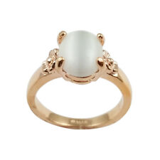 Fashion Jewelry - 18K Rose Gold Plated Imitation Mother of Pearl Ring (FR270)