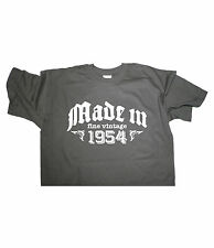 MADE IN 1954 fine vintage - Birthday T-shirt gift funny present born classic fun