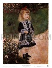 Pierre Auguste Renoir Girl with a Watering Can Open Edition 17.75x24.25
