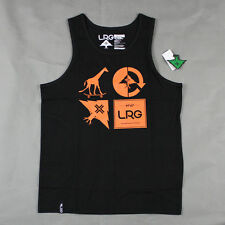 Lifted Research Group - LRG - The RC Mashup Tank Top in Black NWT L-R-G