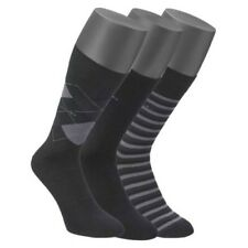 Mens Jockey 3 Pair Pack Of Quality Cotton Rich Mixed Design Everyday Socks