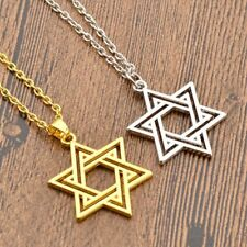 Charm Necklace Silver Gold Hollow Star Pendant Necklace Chain Statement Jewelry