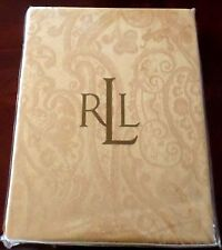 New Ralph Lauren Paisley Wheat / Gold Floral Tablecloth