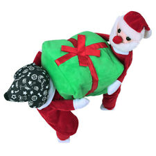 S-XXLPet Christmas Costume Clothes with Gift Box Cat Dog Coat Jacket Apparel Hot