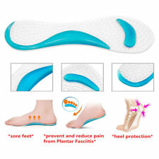 Non-Slip Arch Heel Cushion Support Silicone Gel Pads Shoes Insole Pain Relief