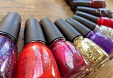 CHINA GLAZE Nail Polish Lacquer Random Shades Holiday Joy Snow *PICK COLOR* .5oz