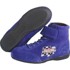 G-FORCE Racing Shoes 0235040BU; GF-235 Race Grip Mid-Tops Mid-Top Boot Blue 4