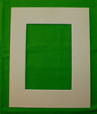 Cream Pre-Cut 11x14 or 16x20  Mat Matting for Picture Framing of Photos Art