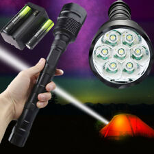 Flashlight Tactical 7x XML T6  LED 18650 Battery 5-MODE 80000 Lumens Torch Lamp!