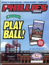 2004 Philadelphia Phillies Opening Day Program Citizens Bank Park Inaugural
